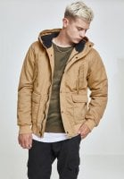 Warm cotton jacket with hood 7