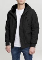 Warm cotton jacket with hood 4