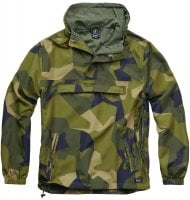 Windbreaker unlined Swedish M90 camo 1
