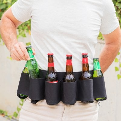 Drinks Belt with Bottle Opener Beer Collection