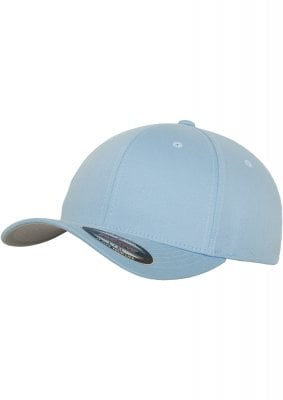 Light blue flexfit cap 5 panel 1