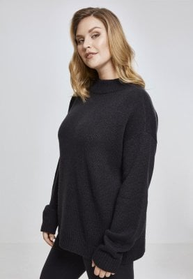 Ladies Oversize Turtleneck Sweater
