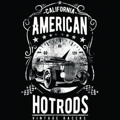 Hot Rod T Shirts >> American Hotrods T Shirt