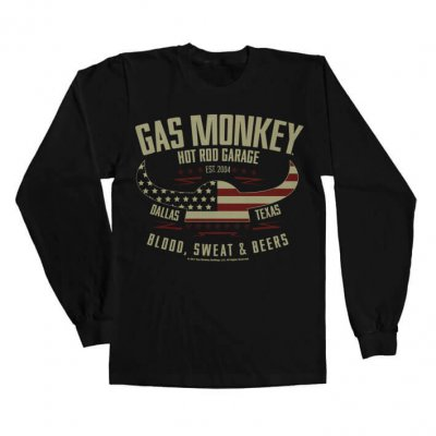 American Viking Gas Monkey Garage longsleeve