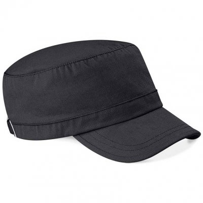 Black army cap front