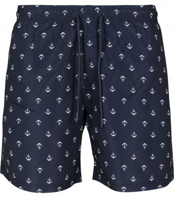 Swimshorts with anchor men 1