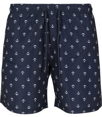 Swim pants with anchor men plus size