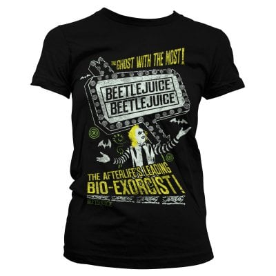 Beetlejuice - The afterlife's leading bio-exorcist T-shirt girly