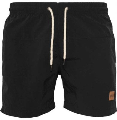 Black Block Swim Shorts