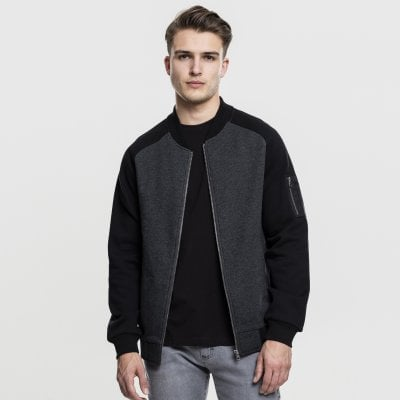 Bomber jacket sweatshirt 1