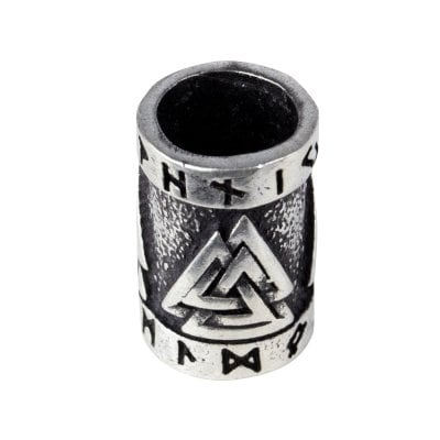 Valknut beard jewelry 2