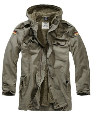 BW parka with teddy lining 1
