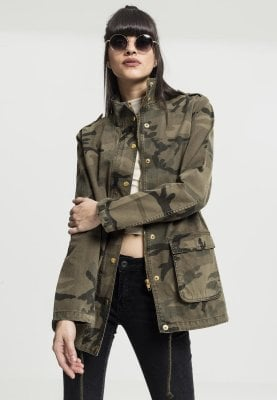 30a0186edb948 Ladies Camo Cotton Parka - Jackets - Womens - Oddsailor.com