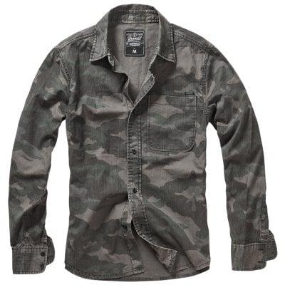 camouflage skjorta herr