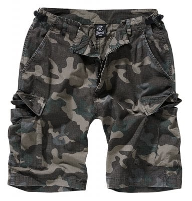 Ripstop cargo shorts men darkcamo