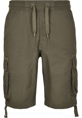 Cargo shorts with cuffs 1