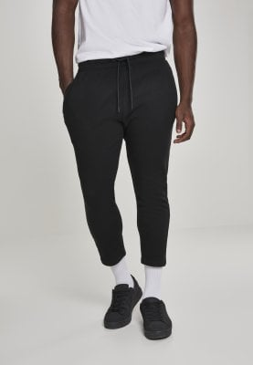 Cropped Terry Pants black