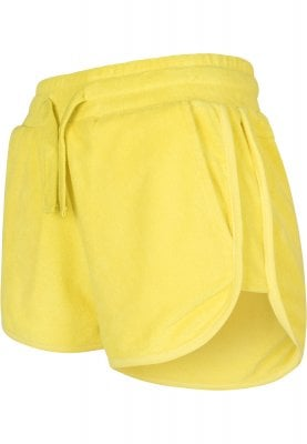 Ladies shorts in terry cloth