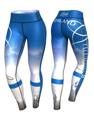 Finland training tights 1