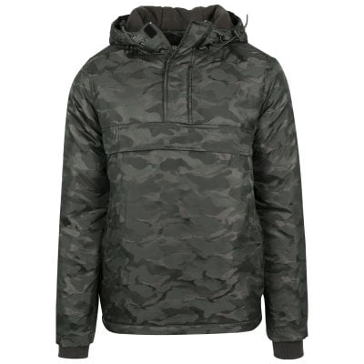 Lined camouflagejacket front