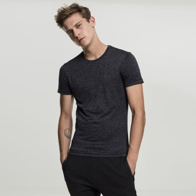 Mens functional shirt black front