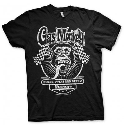 Gas Monkey flags T-shirt