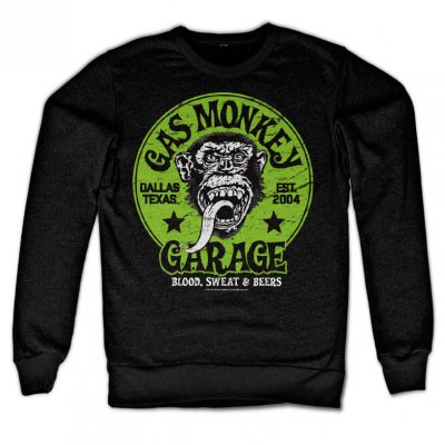 Gas Monkey Garage - Grön Logo sweatshirt