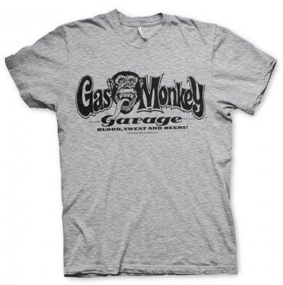 nouvelle apparence regard détaillé 2019 original Gas Monkey Garage logo T-shirt