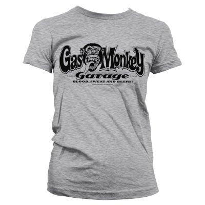 mode de premier ordre très loué  Gas Monkey Garage logo girly T-shirt