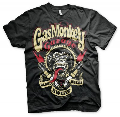 Gas Monkey Garage t-shirt Spark Plugs 1