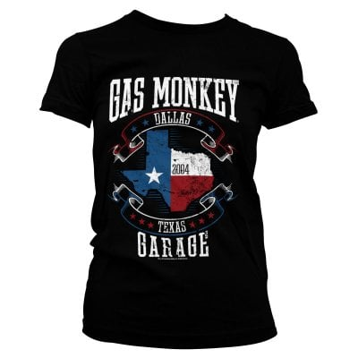 S-XXL Officially Licensed Gas Monkey Garage Logo Baseball Long Sleeve T-Shirt