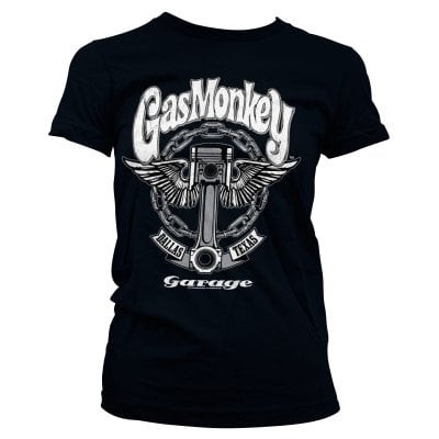 Gas Monkey Garage Girly T-Shirt - Big Piston