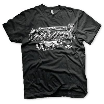 Gas Monkey Garage T-shirt - Garage Exhaust