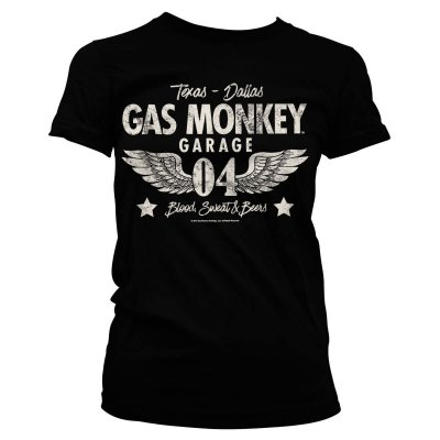 Gas Monkey Garage 04-WINGS tjej t-shirt