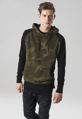 Hoodie camo mens with black arms