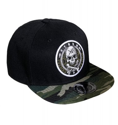 Hyraw snapback cap with camo