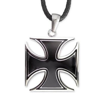 Iron cross in stainless steel