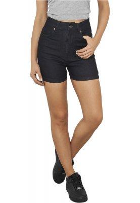 svarta shorts hög midja