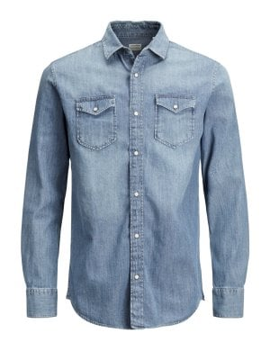 Jeans shirt slim fit
