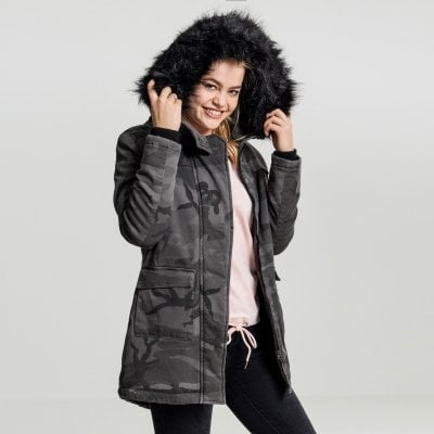 00349be0c7a78 Camouflage parka jacket ladies - Jackets - Womens - Oddsailor.com