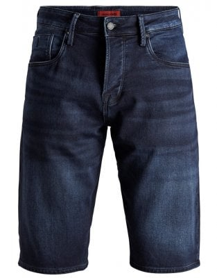 Long jeans shorts men