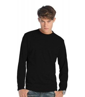 Long-sleeved t-shirt black