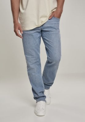Light blue jeans relaxed fit men 1