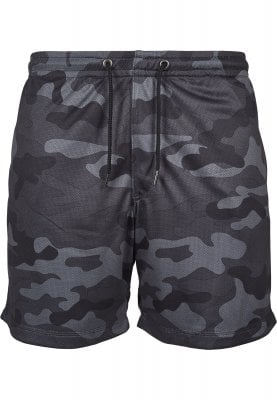 Airy camo shorts men darkcamo
