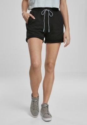 svarta shorts dam