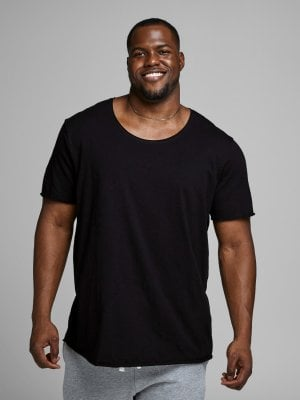 Mens fashion tee plus size