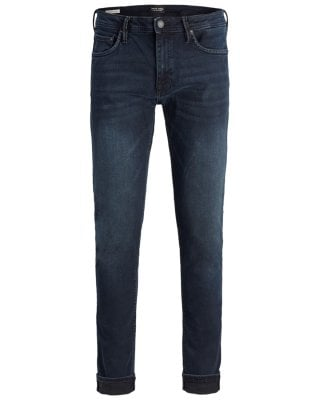 Dark blue jeans mens slim 1