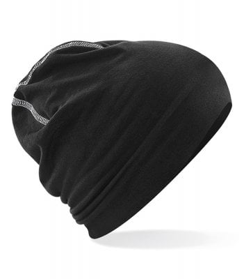 Beanie with coarse seam