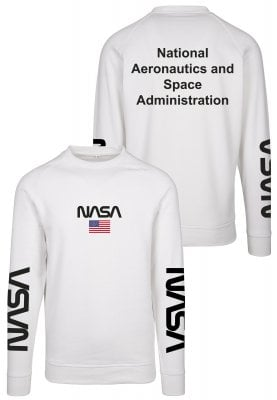 NASA white sweatshirt 1