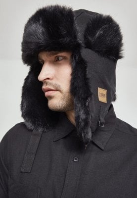 Trapper hat black